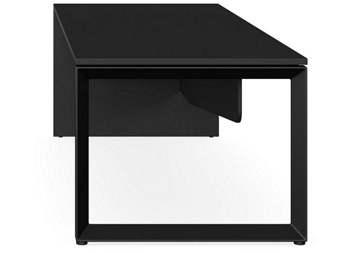 Lite Forum 1.8 Executive Desk - Black