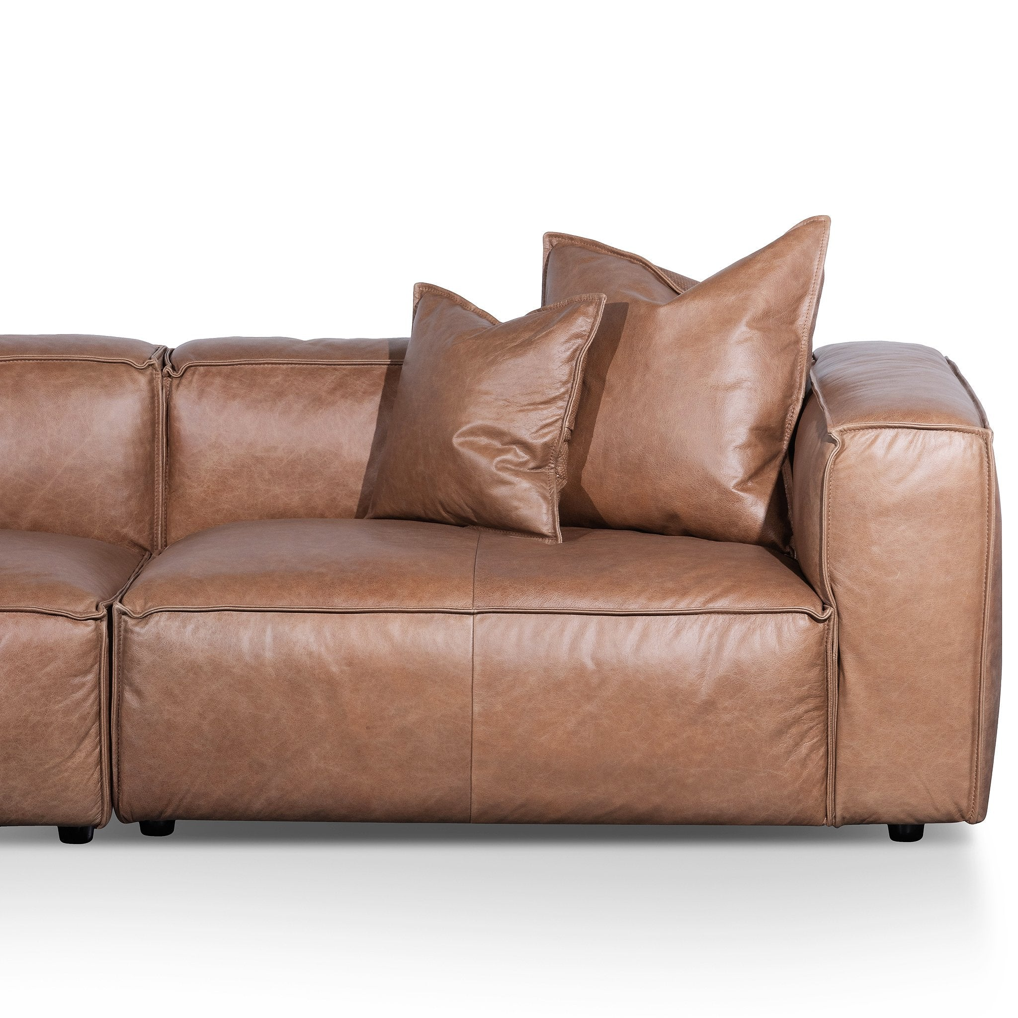 Picture of: Loft 3 Seater Sofa With Cushion And Pillow Saddle B Interior Secrets