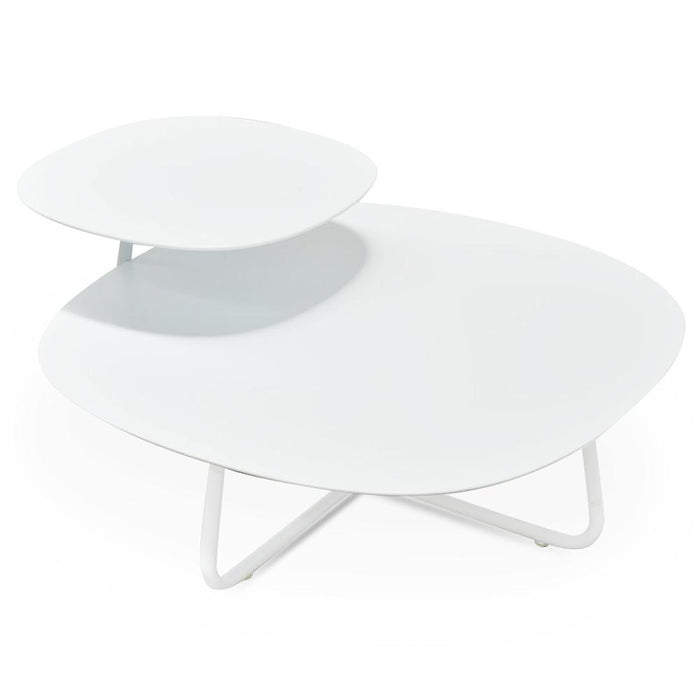 Lucas 70cm Coffee Table - White