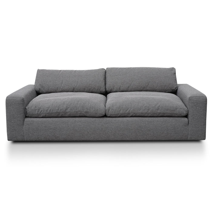 Mabel 3 Seater Fabric Sofa  - Oslo Grey