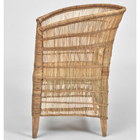 Mangrove Cane Outdoor Armchair - Natural