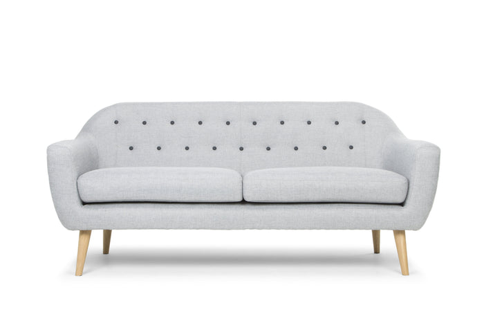Malena 3 Seater Sofa - Grey