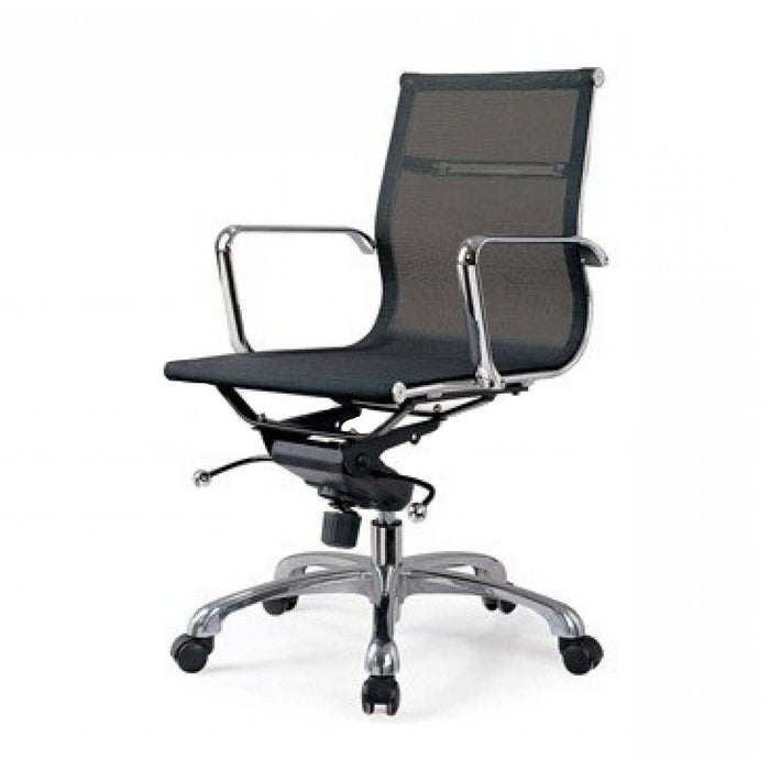Management Mesh Boardroom Office Chair -  Black