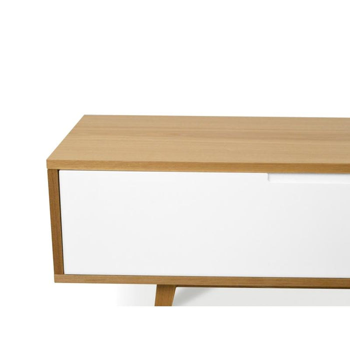 Marc 2.1m Scandinavian  TV Unit - Lowline - Natural