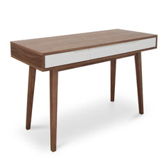 Marc Scandinavian Narrow Wood Console Table - Walnut
