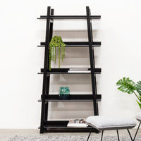 Mayson Bookshelf - Black Oak Veneer