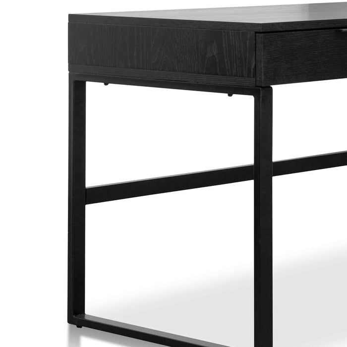 Melissa 120cm Home Office Desk - Black