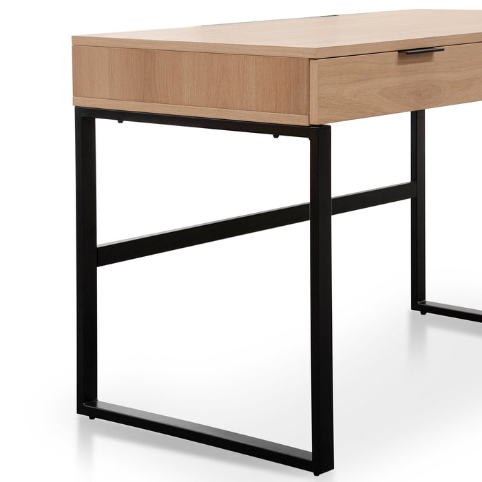 Melissa 120cm Home Office Desk - Natural
