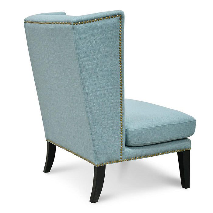 Mercer Lounge Wingback Chair - Teal