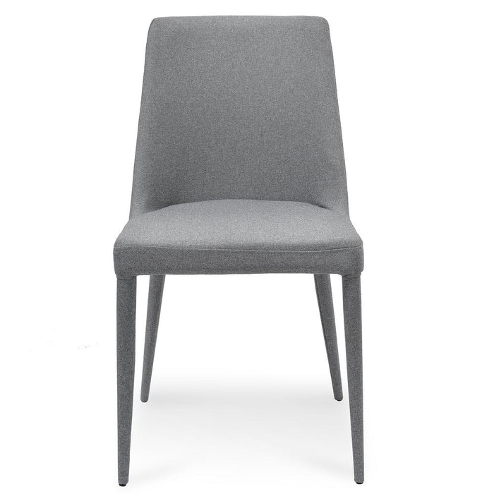 Millie Fabric Dining Chair - Coin Grey