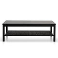 Molina Wooden Coffee Table - Black