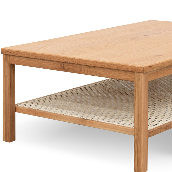 Molina Wooden Coffee Table - Natural