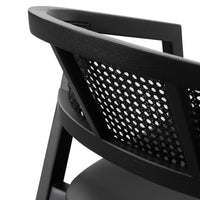 Molina Wooden Dining Chair - Black