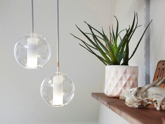 Moon Clear 125mm Pendant Lamp