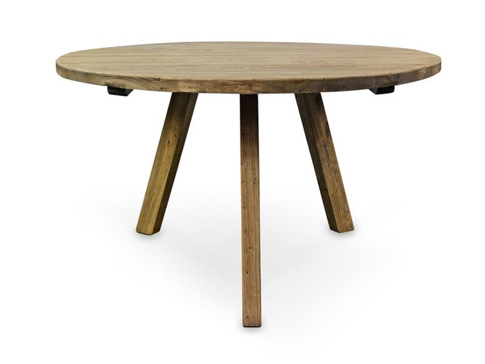 Nena Reclaimed 1.25m Round Dining Table