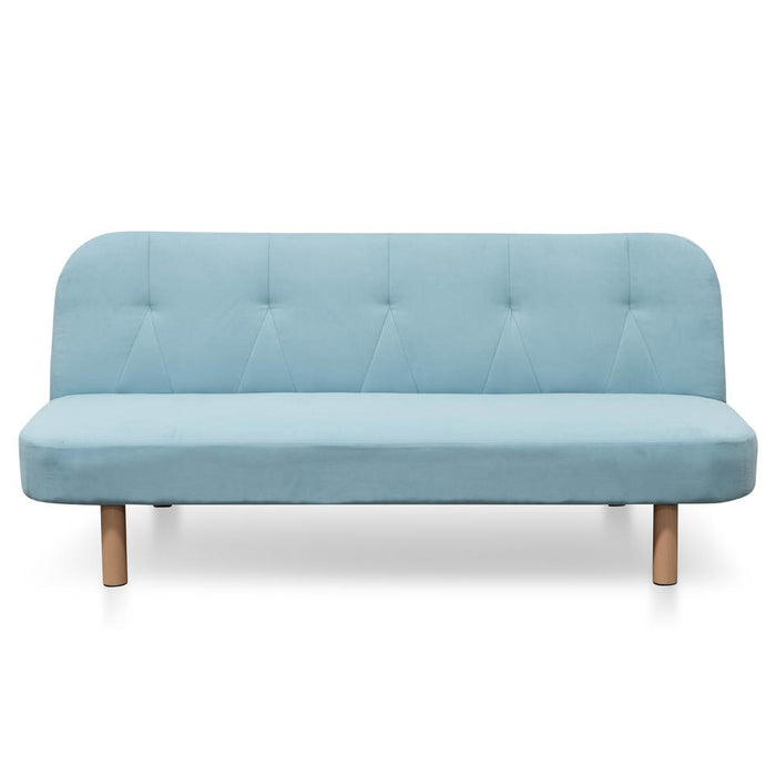 Nina 3 Seater Sofa Bed - Sky Blue