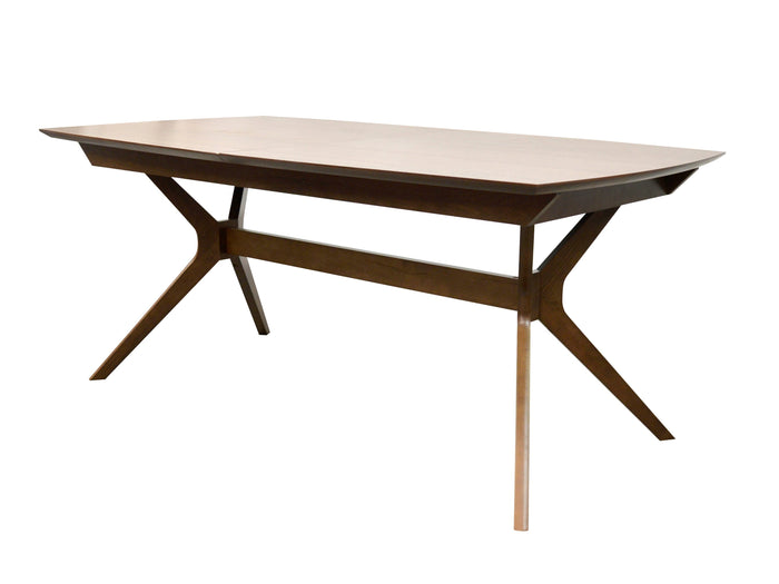 Nora Extendable Dining Table - Walnut