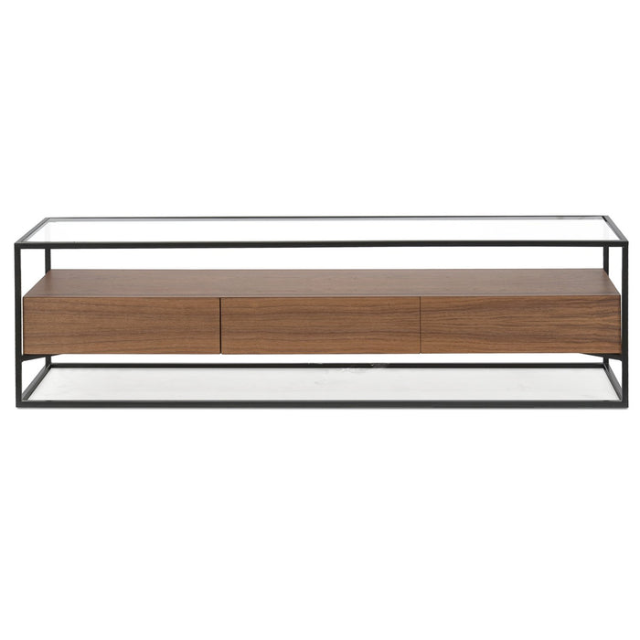 Norman 1.5m TV Entertainment Unit - Walnut