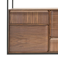 Norman Wood Buffet Unit - Walnut