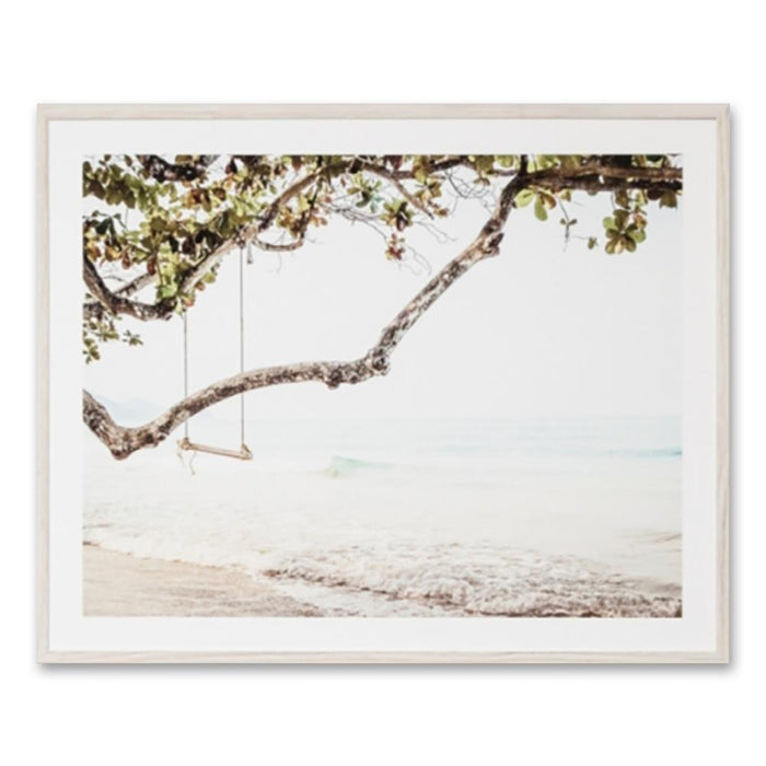Ocean Swing Wall Art Print