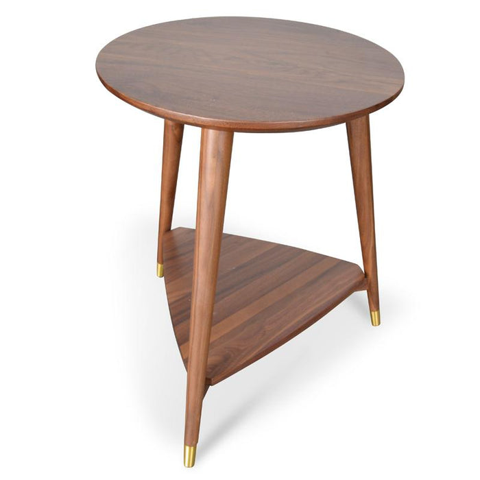 Olivia Side Table in Walnut
