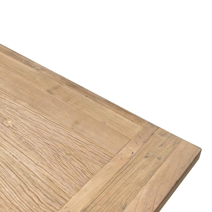 Oscar 2.8m Recycled Elm Wood Dining Table