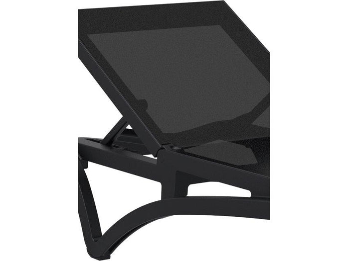 Pantha Outdoor Sun Lounger - Black