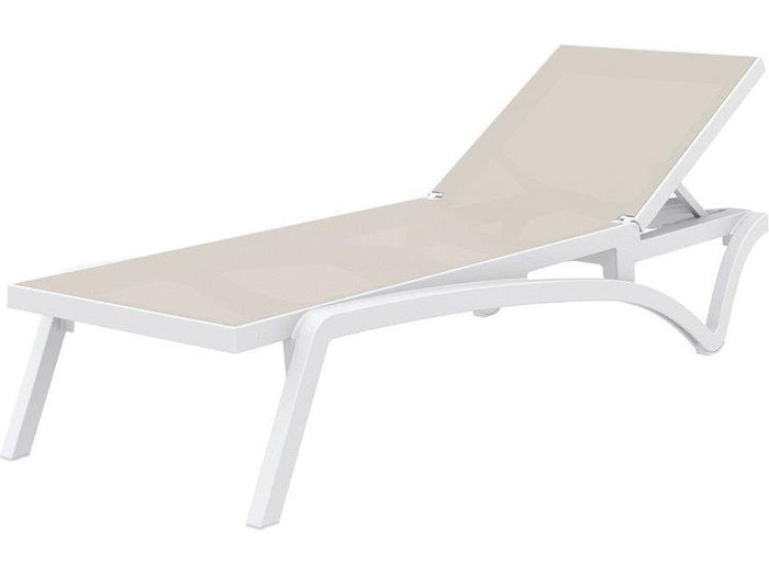 Pantha Outdoor Sun Lounger - Taupe