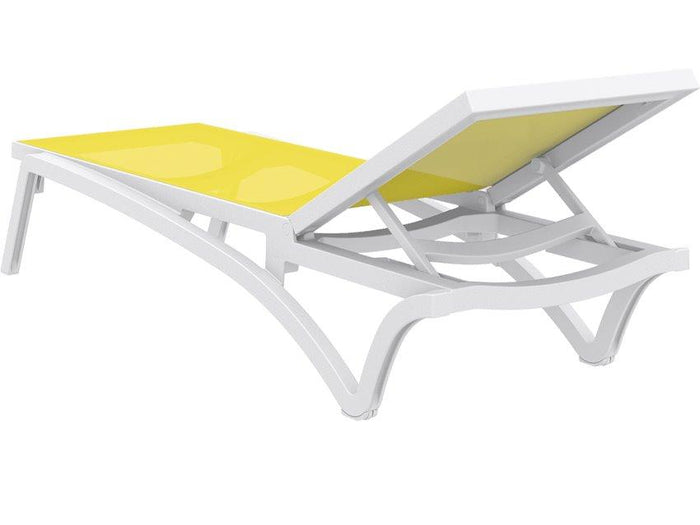 Pantha Outdoor Sun Lounger - Yellow