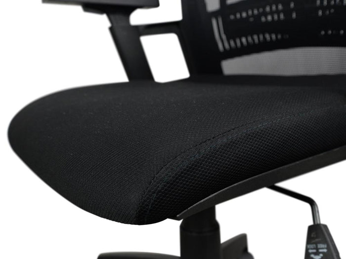 Parker Mesh Boardroom Office Chair - Black