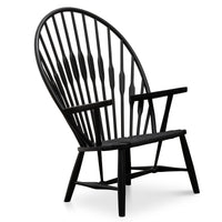 Peacock Lounge Chair PP550 - Hans Wegner  - Black
