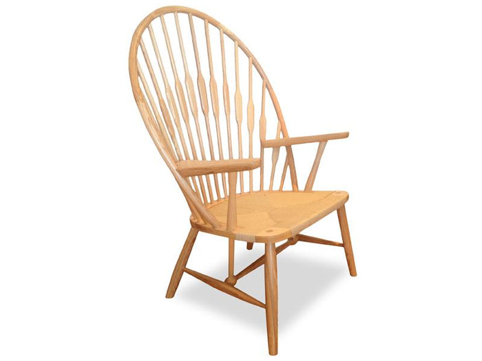 Peacock Lounge Chair PP550 - Hans Wegner  - Natural