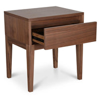Penley Bedside Table - Walnut