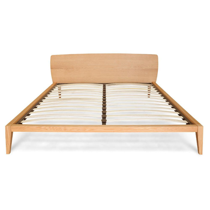 Penley Queen Sized Bed Frame- Natural Oak