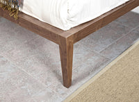 Penley Queen Sized Bed Frame - Walnut