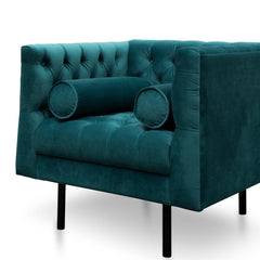 Pilla Armchair - Electric Blue