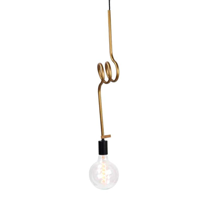 Quinn Metal Pendant Light - Bronze