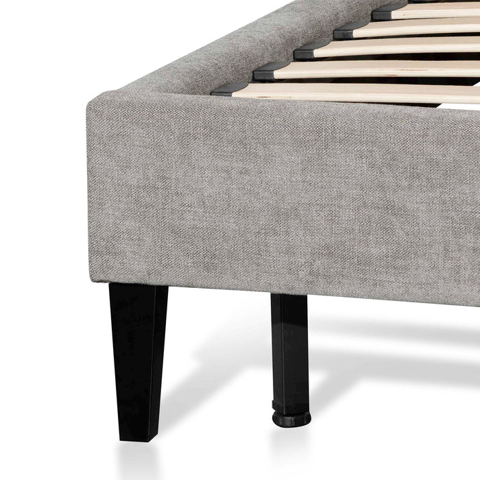 Ralph King Bed Frame - Ash Grey