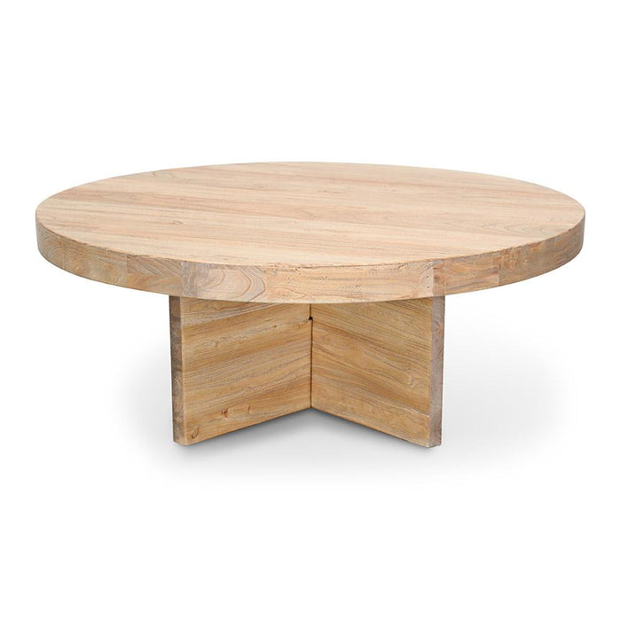 Ramona 100cm Round Coffee Table - Natural