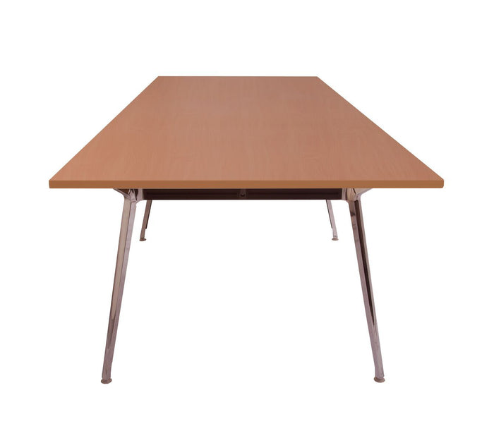 Rapid Air 3.2m Boardroom Table - 2 Piece top - Double Stage - Beech