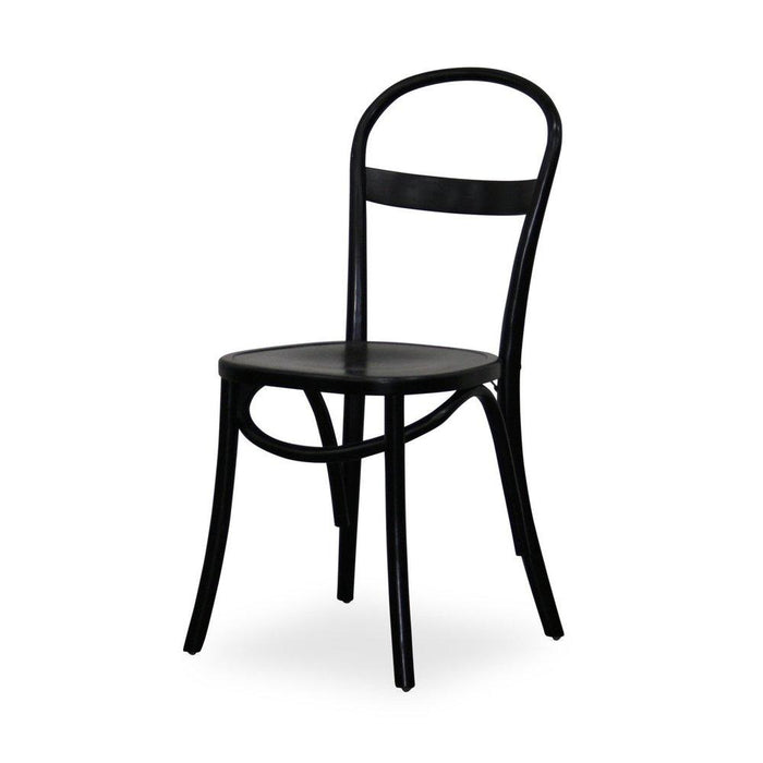 Ringo Oak Dining Chair - Black