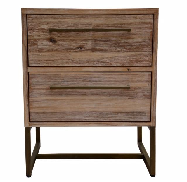 Roma Bedside Table - Oak