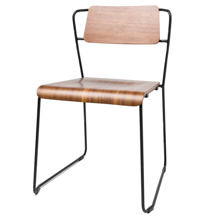 Ron Dining Chair - Walnut