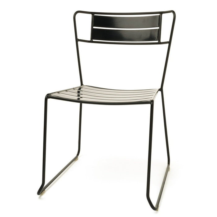 Ron Outdoor Dining Chair - Black