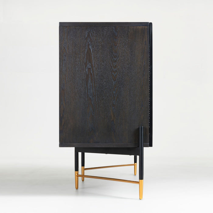 Rupert Timber Sideboard - Black