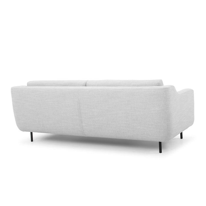 Sasha 3 Seater Sofa - Light Texture Grey