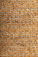 Koa 155 x 225cm Wool Jute Rug - Natural
