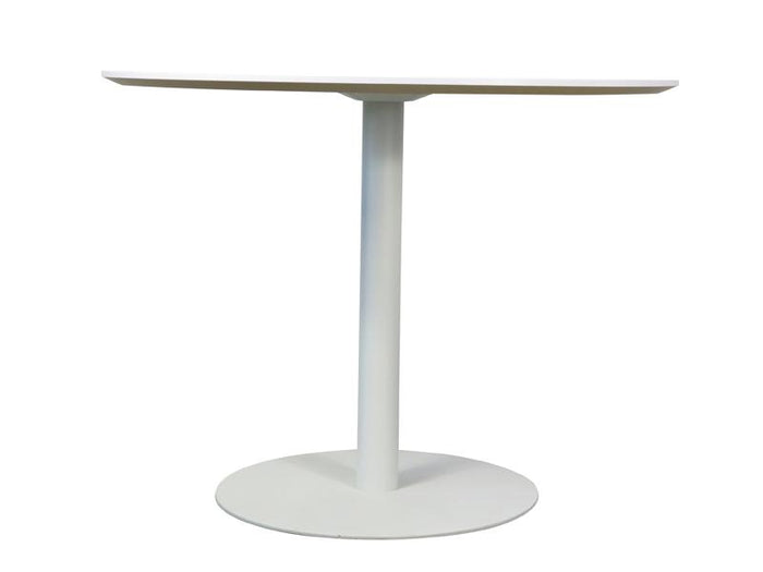 Scope Round Office Meeting Table - White