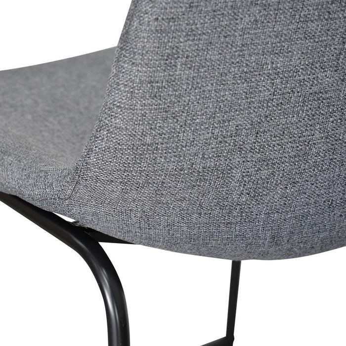 Set of 2 - Darcy 65cm Bar Stool - Dark Grey