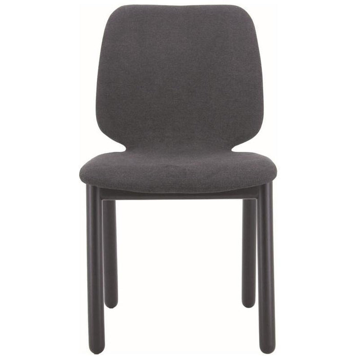 Echo Fabric Dining Chair in Dark grey